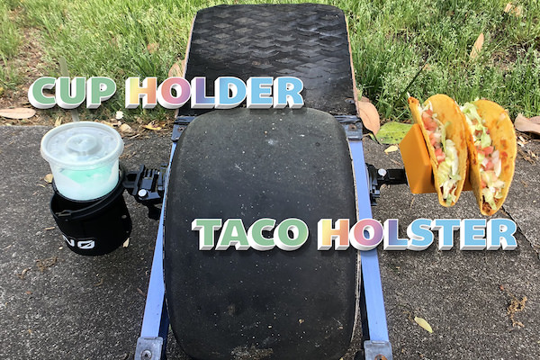 Taco Holster & Cup Holder